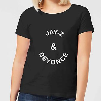 Jay-Z & Beyonce Women's T-Shirt - Black