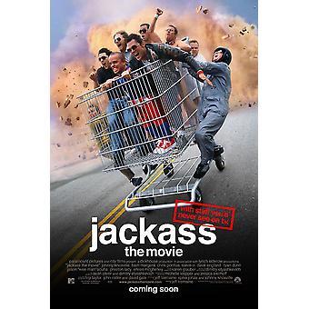 Jackass elokuva (kaksipuolinen säännöllinen) alkuperäinen elokuva juliste