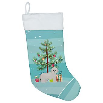 Carolines Treasures  CK3449CS Cyprus Poodle Christmas Tree Christmas Stocking