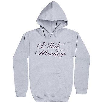 I Hate Mondays - Womens Hoodie