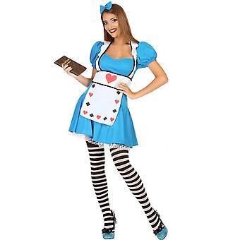 Vrouwen kostuums Vrouwen Alice Dress Up kostuum