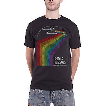 Pink Floyd T skjorta mörka sidan av månen tur 1972 nya officiella Mens svart