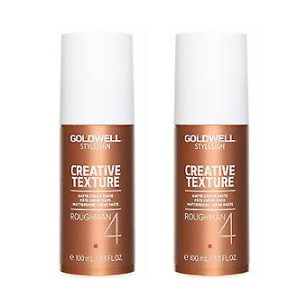 2-pack Goldwell Stylesign Roughman matte crème pasta 100ML