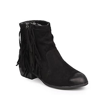 Qupid Womens Static-35 Closed Toe Ankle Fashion Boots