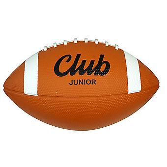 Midwest Club Rubber American Football Ball Tan Junior Size
