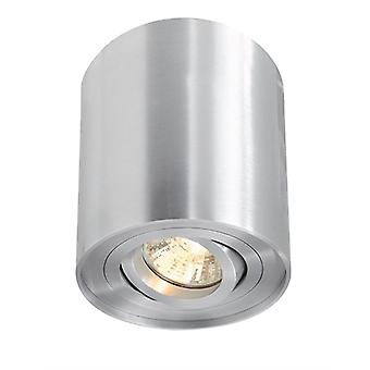 Ceiling lamp Bengala GU10 max. 50W x 96mm silver swivel and dimmable