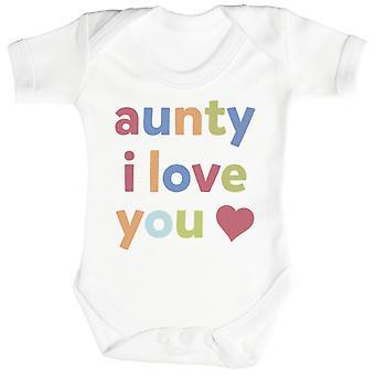 Tante, jeg elsker deg Baby Body / Babygrow