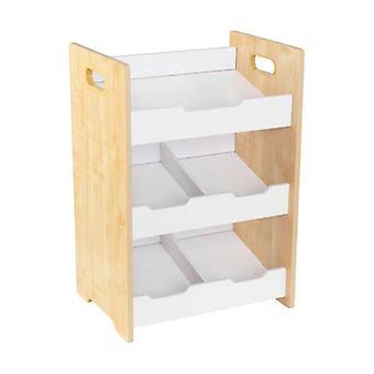 KidKraft plank houten bibliotheek