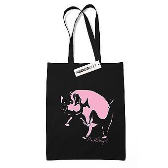 Vaaleanpunainen Floyd Pig luonnos Tote laukku