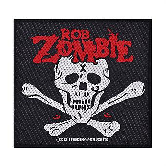 Rob Zombie Dead Return Woven Patch