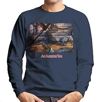 Una coda americana Fievels Shadow Men's Sweatshirt