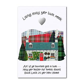 Embroidered Originals Lang May Yer Lum Reek - New Hame