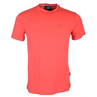 Cavalli Class Ananke Stretch Cotton Simple Red T-shirt