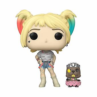 Birds of Prey Harley Quinn and Beaver Funko Pop