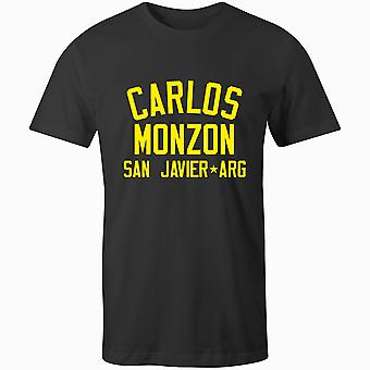 Carlos Monzon Boxing Legend T-Shirt