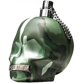 Polizia di essere camouflage per Men Eau de Toilette Spray 125ml