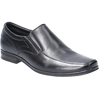 Hush Puppies Mens Billy Slip On Light Leather Loafer Shoes