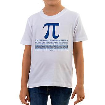 Reality glitch pi numbers kids t-shirt