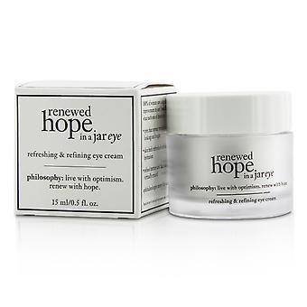 Hernieuwde hoop in een pot verfrissende en raffinage oogcrème 184123 15ml/0.5oz