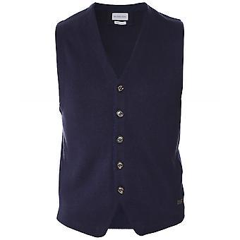 Baldessarini Cashmere Blend Knitted Waistcoat