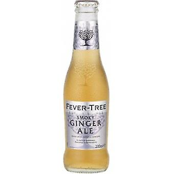 Fevertree Smoky Ginger Ae Water -( 200 Ml X 24 Cans )