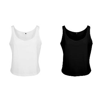 Build Your Brand Womens/Ladies Oversized Sleeveless Tank Top