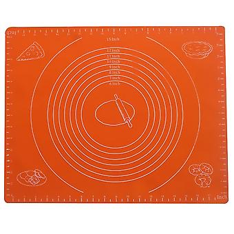 Large Silicone Mat With Measurements  For Baking Pastry Cakes Patisserie Pizza  Rolling Work Top