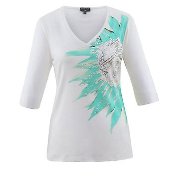MARBLE Marble Roze of Turquoise T-shirt 5656