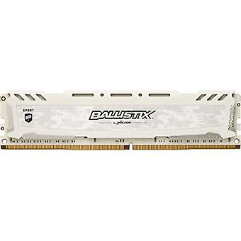 Crucial Ballistix Sport LT BLS8G4D240FSC Gaming Memory for Fixed Computers, 2400 MHz, DDR4, DRAM, 8 GB, CL16, White