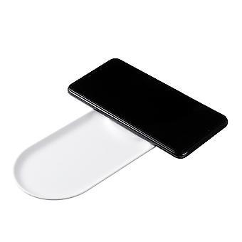 10W qi trådløs lader pad for qi-aktiverte enheter iphone samsung huawei xiaomi lg