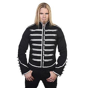 Proibido a jaqueta militar baterista