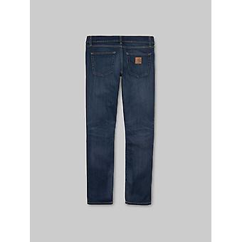 Carhartt WIP Rebel Pant Jeans - Blue Dark Worn Wash
