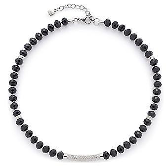 Leonardo Jewels Women's Steel Chain_Stainless Glass
