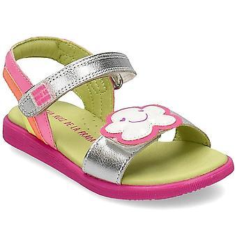 Agatha Ruiz De La Prada 202945 202945APLATA universal verão sapatos infantis