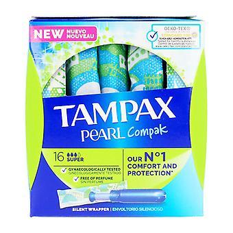 Super Tampons Pearl Tampax (18 uds)