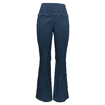Women with Control Women's Jeans Prime Stretch Denim Low Bell Blue A342060