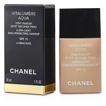 Vitalumiere aqua ultra light skin perfecting make up spf15   # 42 beige rose 30ml/1oz