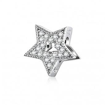 Sterling Sølv Charme Du er en stjerne - 6570