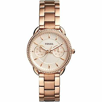 Fossil ES4264 Tailor Rose Gold Dial Multi-Function Ladies Watch