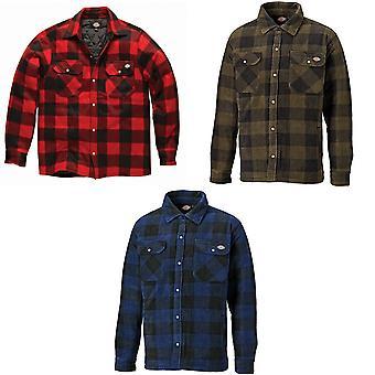 Dickies Herre polstret lang ærme Portland Lumberjack arbejde skjorte