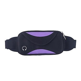 Double color waist bag