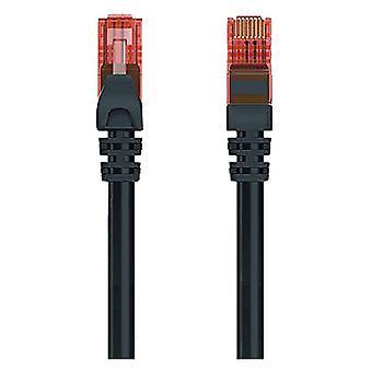 UTP Category 6 Rigid Network Cable Ewent EW-6U 1000 Mbit/s Black/3 m