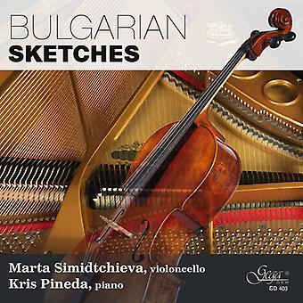 Simidtchieva / Pineda - Bulgarian Sketches [CD] USA import