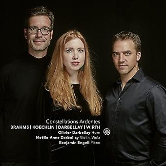 Brahms / Darbellay / Engeli - Constellations Ardentes / Music for Horn [CD] USA import