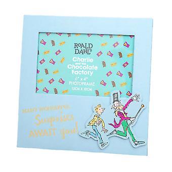 Roald Dahl Charlie ja suklaatehtaan valokuvakehys