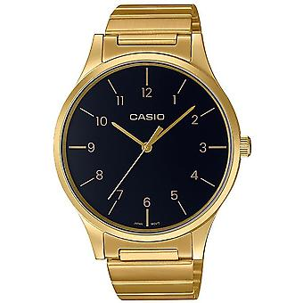 Casio Collection Watch LTP-E140GG-1BEF - Plated Stainless Steel Ladies Quartz Analogue