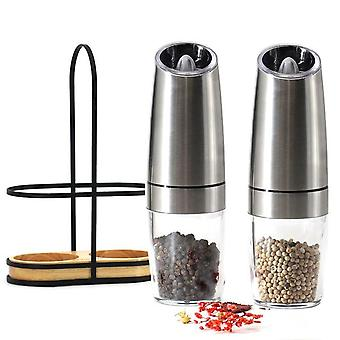 Automatic LED Mill Pepper and Salt Grinder