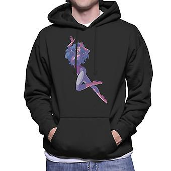 Jem And The Holograms Synergy AI Men's Hooded Sweatshirt