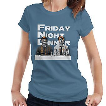 Friday Night Dinner Adam och Jonny Women&Apos;s T-shirt