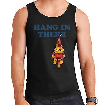 Garfield Pinned Up Hanging In There Men's Vest